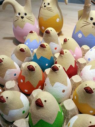 Bald ist Ostern - bei uns piepst`s schon